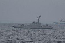 Возвращение кораблей ВМСУ: в Очаков зашел бронекатер Никополь