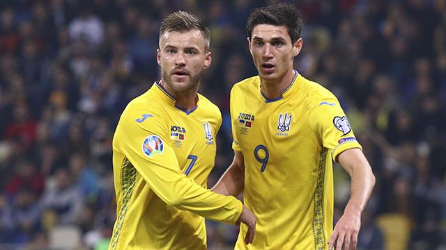 Ярмоленко и Яремчук в сборной Украины
