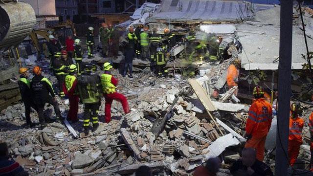 Картинки по запросу Землетрус в Албанії: