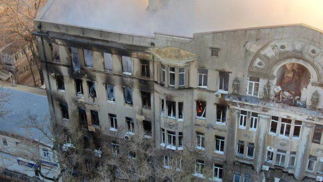 Пожежа в Одесі: поліція відкрила кримінальне провадження