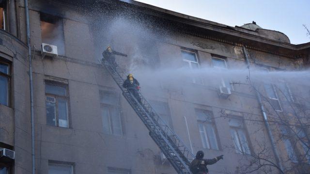 Пожар в Одессе: количество пострадавших выросло до 26