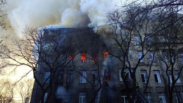 Пожар в Одессе: что известно на данный момент
