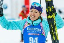 Юлія Джима здобула Україні першу медаль на етапі Кубка світу з біатлону