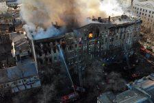 Правительственная комиссия назвала причину пожара в одесском колледже