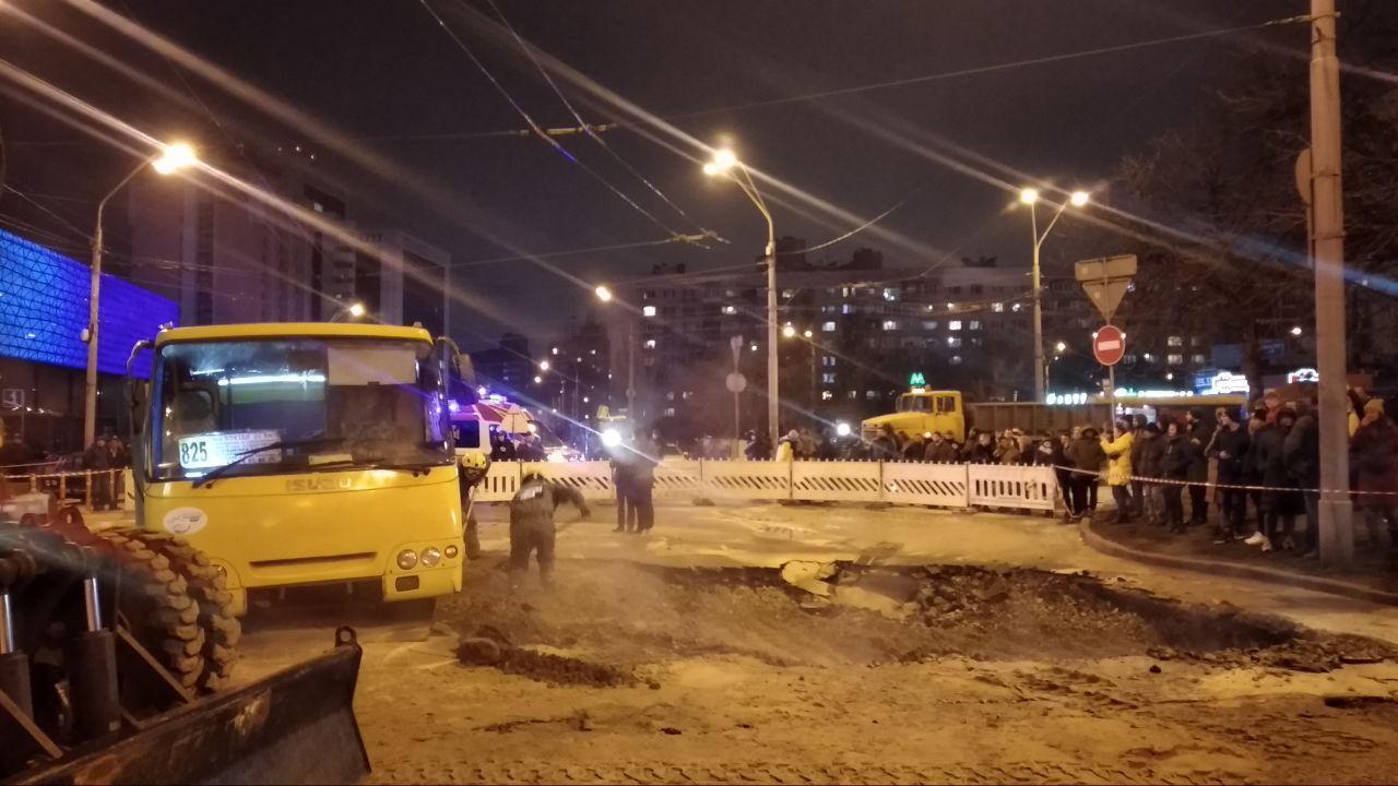 Аварія біля Оcean Plaza
