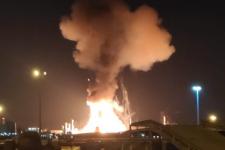 Потужний вибух на нафтохімічному заводі в Іспанії – перше відео