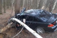 Слетела в кювет и перевернулась: в Ровенской области BMW протаранило маршрутку