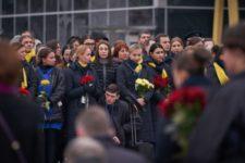 Церемонія прощання з загиблими в авіакатастрофі літака МАУ