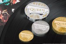 В Британии выпустили монеты в честь группы Queen