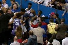 В США студенти влаштували побоїще на баскетбольному матчі