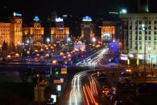 Более 20 ДТП и 7-бальные пробки – ситуация на дорогах Киева (КАРТА)