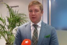 Коболєв у Давосі розповів про переваги та перспективи ГТС