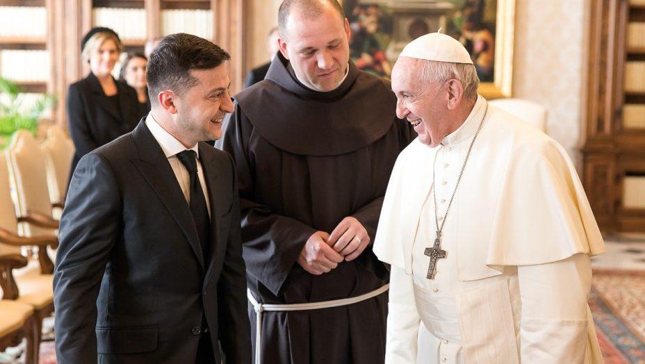 Зеленський і Папа Римський