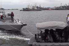 Начинается ремонт кораблей, захваченных РФ в Керченском проливе