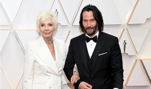 Оскар 2020: Кіано Рівз прийшов на церемонію з мамою