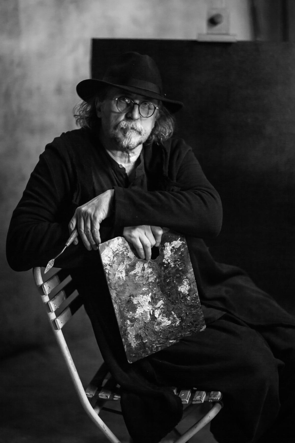 Празький художник Олександр Онищенко та відомий композитор Євген Хмара роблять унікальну колаборацію у Києві