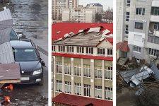 Поваленные деревья и сорваные крыши. Циклон Сабине накрыл Украину