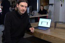 Стол, который следит за осанкой: украинец из США разрабатывает умную мебель