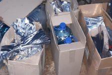 Житель Кривого Рогу перетворив гараж у цех з виробництва нелегального алкоголю