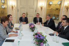 Содержательный диалог: Зеленский встретился с главой МВФ