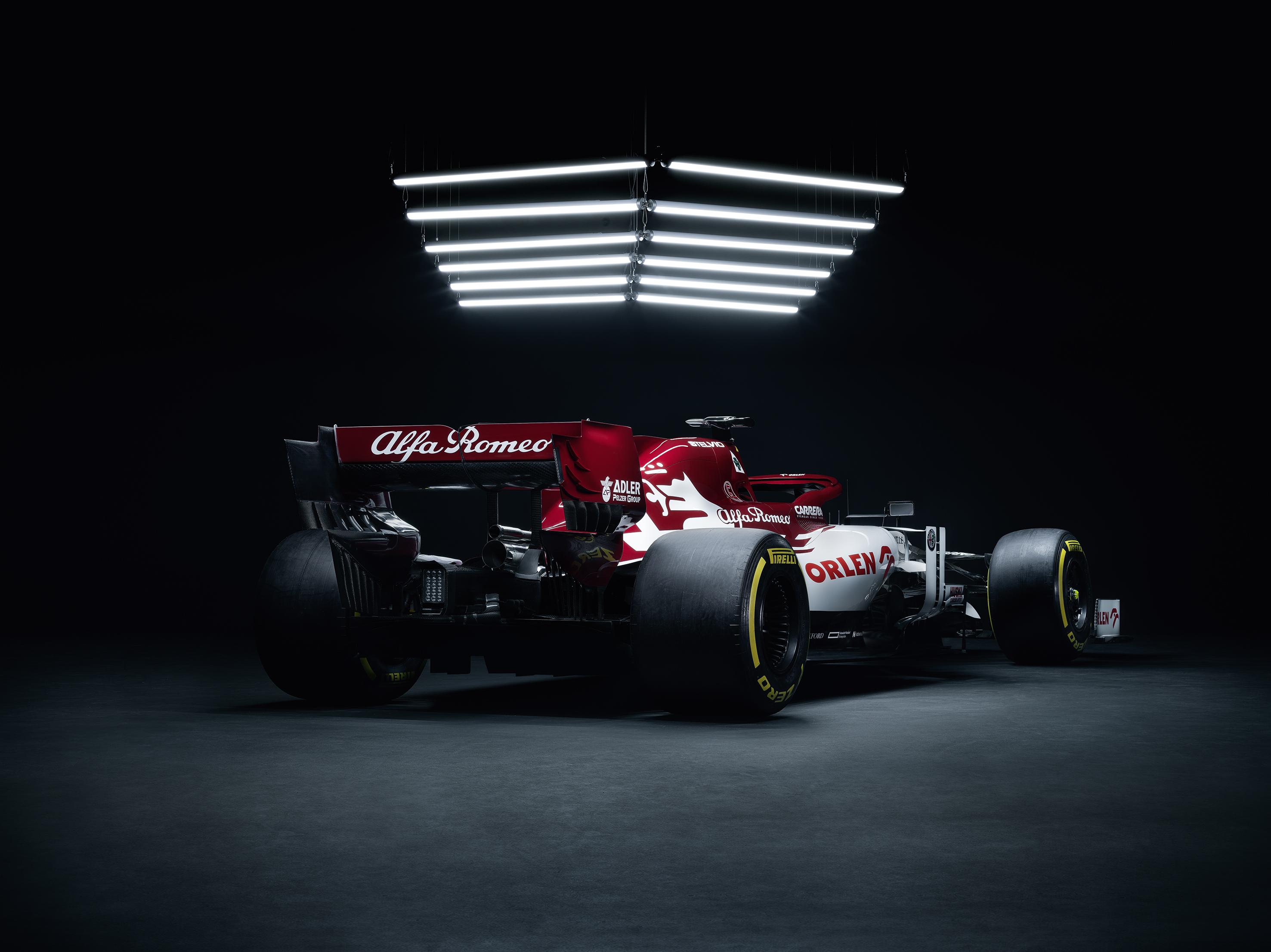 Alfa Romeo болид 2020