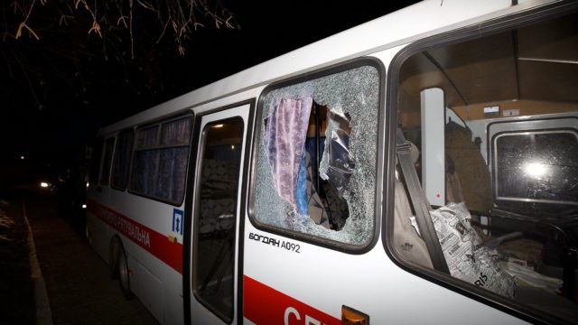 У сутичках в Нових Санжарах постраждали дев'ять силовиків і один цивільний