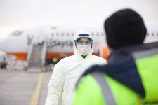 В Харькове приземлился самолет с эвакуированными из Уханя