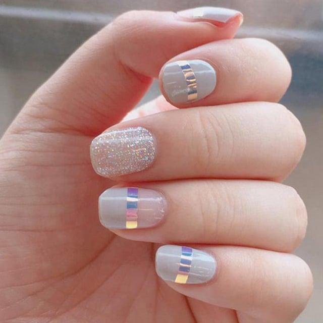 Весняний манікюр 2021 на короткі нігті (ФОТО)