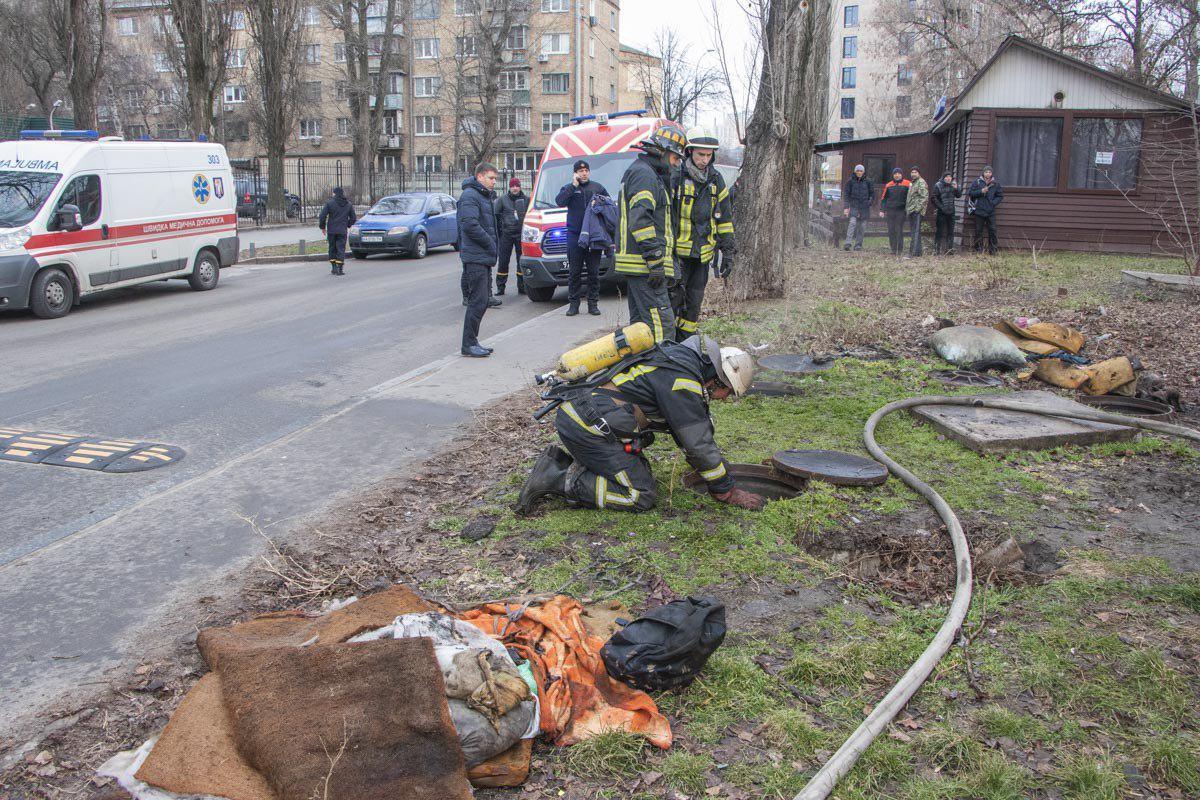 Тіла трьох людей знайшли в колекторі у Києві