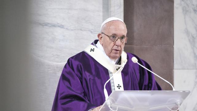Папа Римський виразив занепокоєння щодо ситуації на Сході України