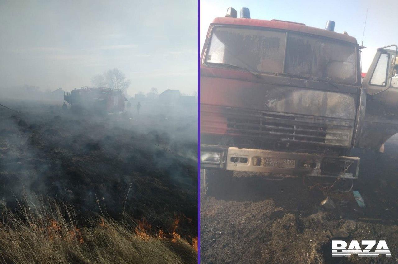 У Росії рятувальник заснув під час пожежі: у чоловіка обгоріли ноги