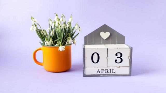 3 апреля, 3 квітня