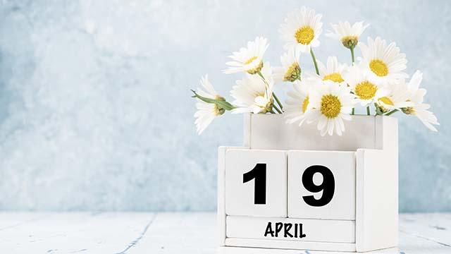 19 квітня календар