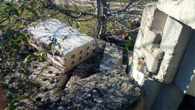 В Одеській області на двох дітей впали бетонні плити