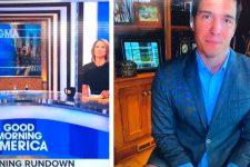 Думав, що не видно: у США журналіст вийшов у прямий ефір без штанів