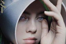 Рассказ служанки: Билли Айлиш в новом образе для китайского Vogue