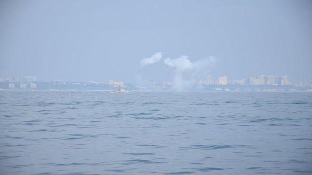 ВМСУ випробували захист для нових артилерійських катерів