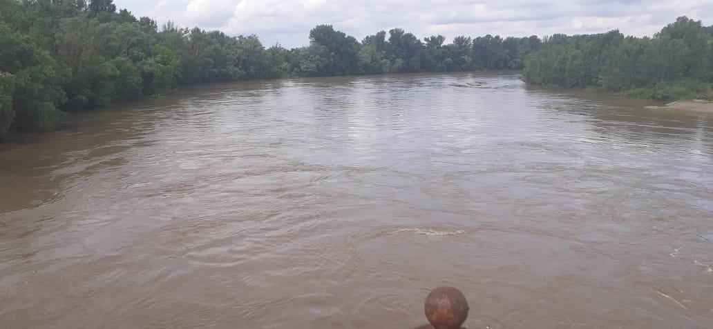 Прикордонники врятували українця, якого несло течією річки в Угорщину