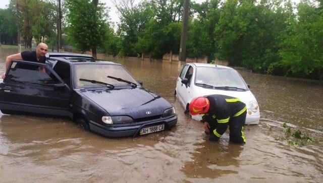Маріуполь затопило - фото наслідків зливи