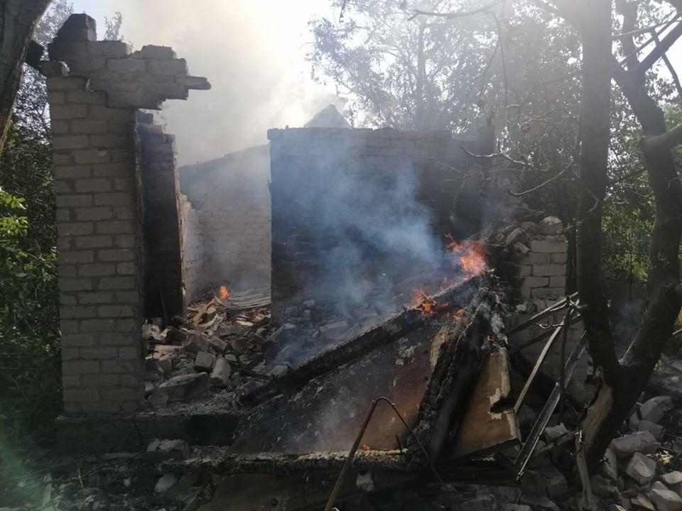 Бойовики обстріляли житлову частину Авдіївки