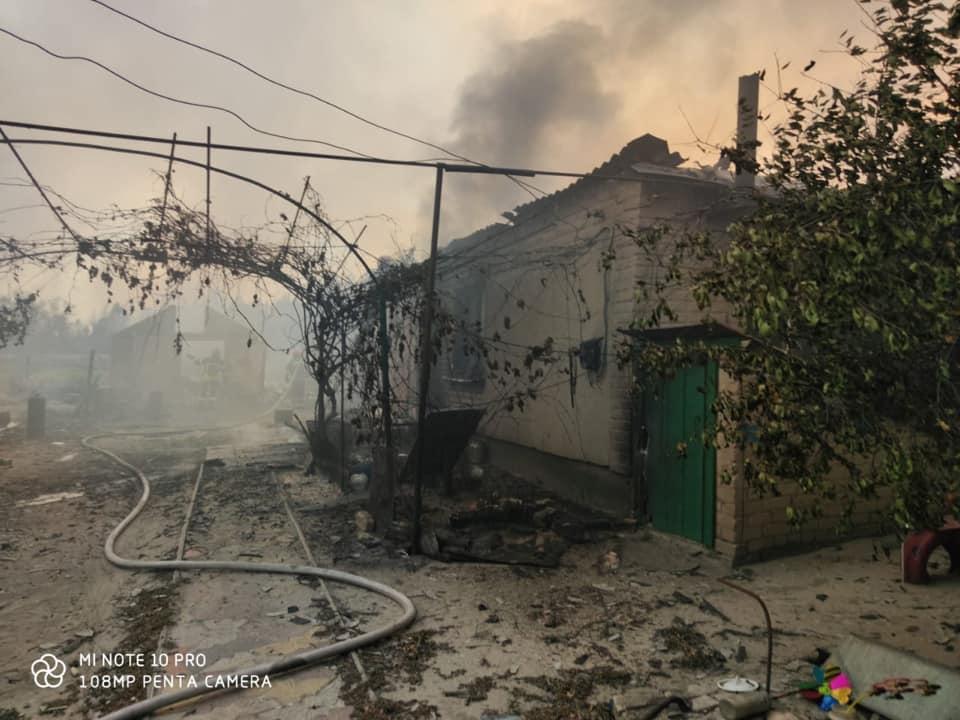 Лісові пожежі на Луганщині: названо попередню причину