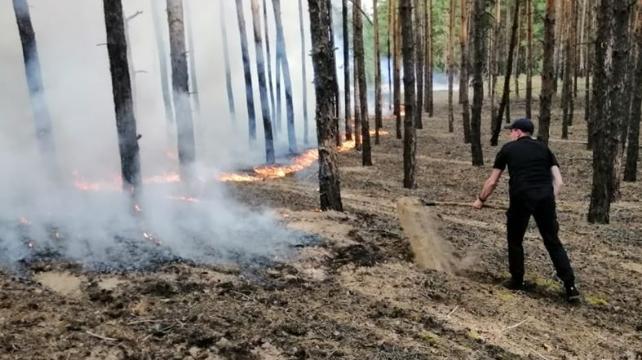 Пожежа у Сєвєродонецьку