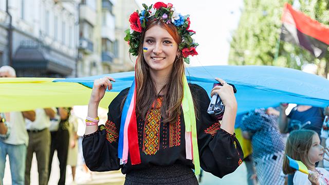 Українська дівчина
