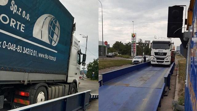 €6,5 тис.: у Києві водія фури оштрафували на рекордну суму за перевантаження