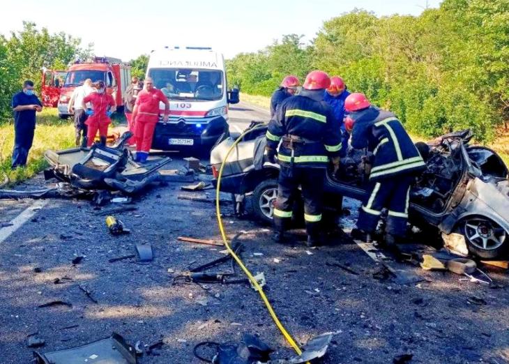 Смертельна ДТП в Одеській області: шестеро загиблих