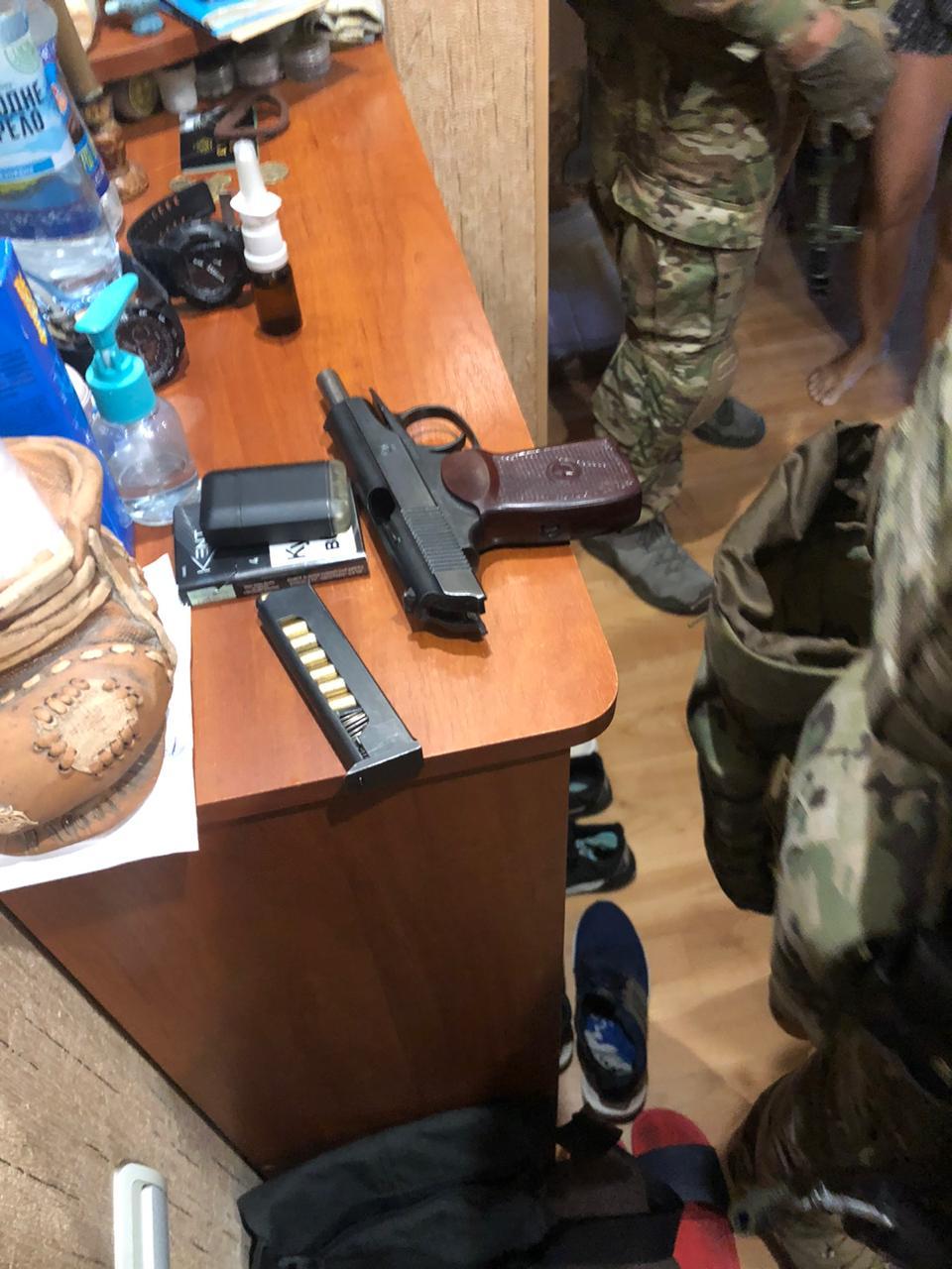 У Харківській області СБУ затримала банду і кримінального авторитета Князя