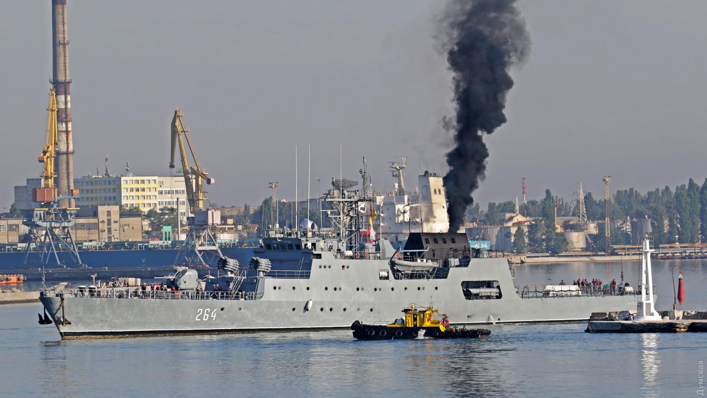 П'ять кораблів НАТО зайшли в Одесу — фото