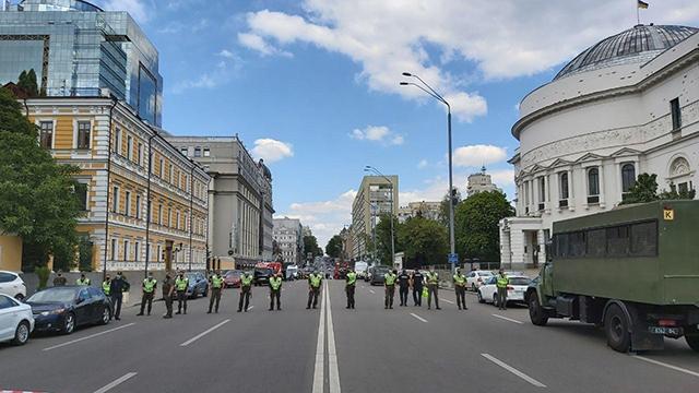 захоплення бізнес-центру у Києві