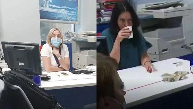 Захоплення банку в БЦ Леонардо: чому на фото з терористом різні заручниці