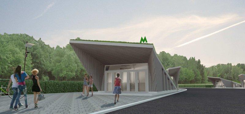 Метро на Виноградар: якими будуть станції (ФОТО)